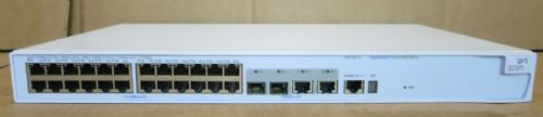 3Com Superstack 3 4500 26Port 24x10/100 2x10/100/1000 Network Switch 3CR17561-91